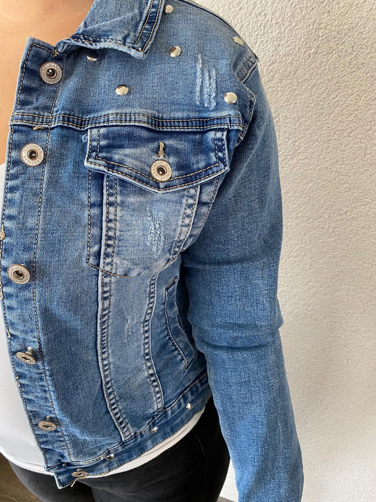 Blauw spijkerjasje