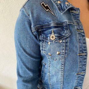 Blauw spijkerjasje maat XL